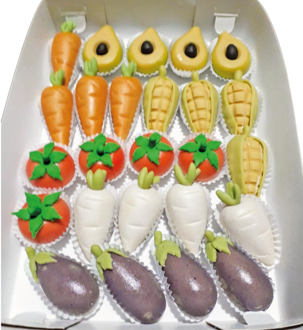 Verduras de maná
