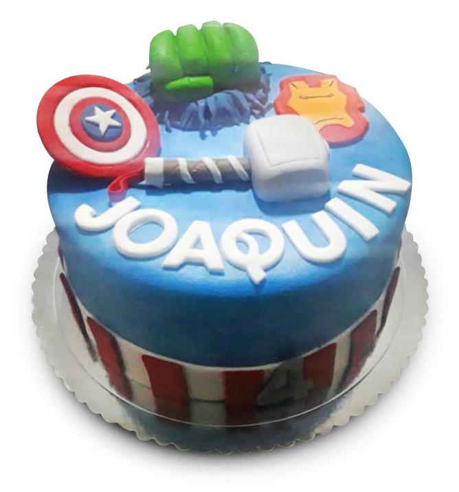 Torta de los Avengers